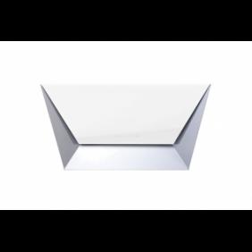 Falmec Prisma CPQN85.E0P2 ZZZF491F Parete 85 cm, Bianco, 800 m³/h