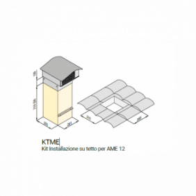 Airone Accessorio Kit Fissaggio AIKTQ46AC100000000
