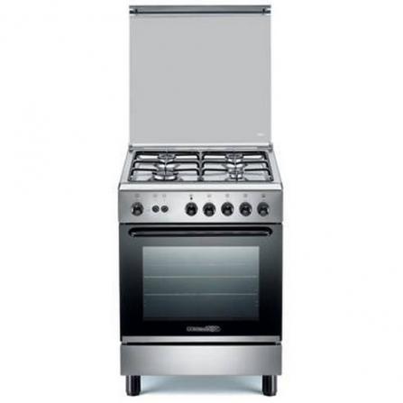 Cucina A Gas Inox 4 fuochi e forno a gas La Germania S640 21 X S64021X  - Pronta Consegna