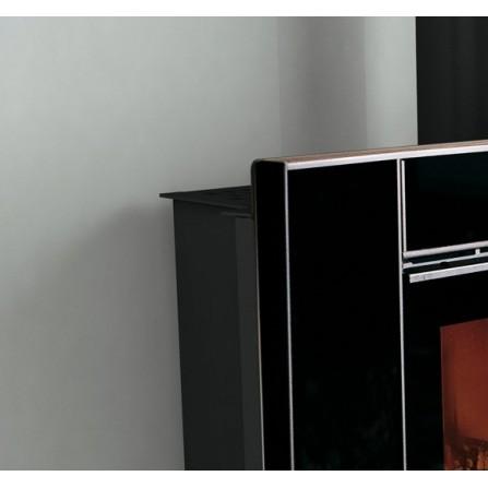 La Nordica Extraflame Accessorio Cornice CRYSTAL 100 in cristallo nero 6016091
