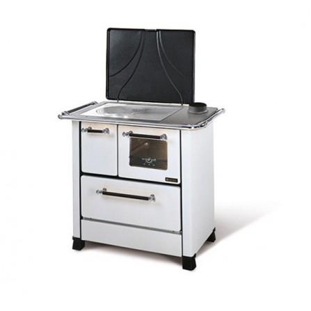 La Nordica Extraflame Cucina a Legna Romantica 3,5 1013051 5,0 kW Bianco  - Pronta Consegna