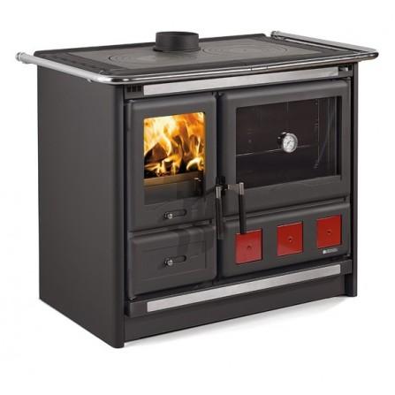La Nordica Extraflame Cucina a Legna Rosa Xxl 7015190 8,5 kW Antracite
