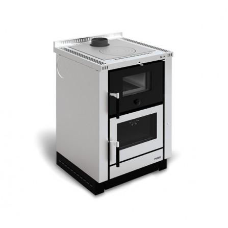 La Nordica Extraflame Cucina a Legna Vicenza 7016100 7,4 kW Inox
