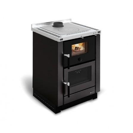La Nordica Extraflame Cucina a Legna Vicenza 7016110 7,4 kW Nero