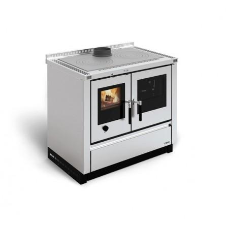 La Nordica Extraflame Cucina a Legna Padova 7016300 8,0 kW Inox
