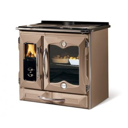La Nordica Extraflame Cucina a Legna Suprema 7015760 8,5 kW Tortora