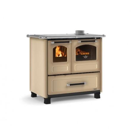 La Nordica Extraflame Cucina a Legna Family 4,5 7014002 9,0 kW Cappuccino