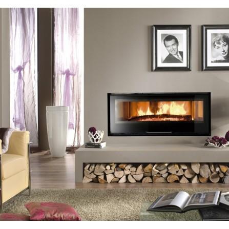 La Nordica Extraflame Monoblocco a Legna Piano Crystal 1300 6118130 13,0 kW -
