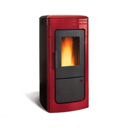 La Nordica Extraflame Termostufa a Pellet Liliana IDRO 1276702 6,7-22,8 kW Bordeaux