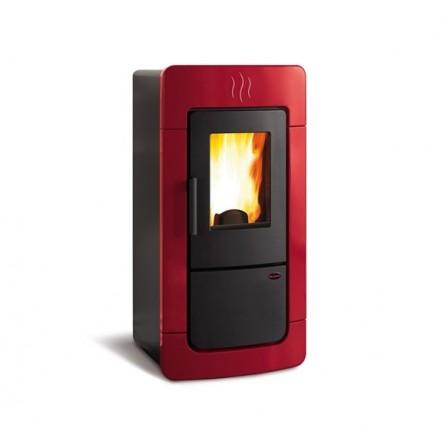 La Nordica Extraflame Termostufa a Pellet Diadema ACS IDRO 1276850 6,7-28,4 kW Bordeaux