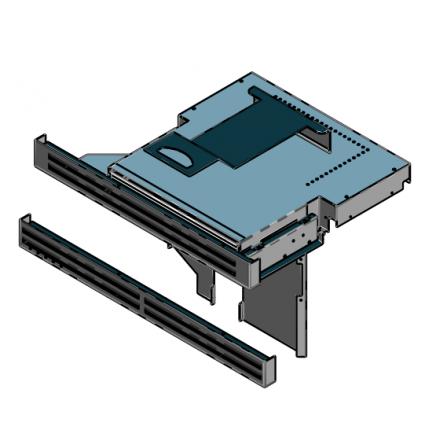 Cola Kit Cassetto a carica frontale L9FU140A per inserto camino