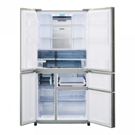 Sharp SJWX830FWH Frigorifero vetro bianco brillante A+  - Pronta Consegna