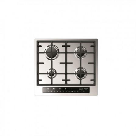 Fulgor Piano cottura a gas CPH 604 G TC X finitura acciaio inox da 59cm