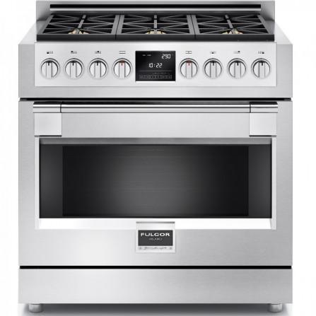 Fulgor Cucina multifunzione FSRC 3606 P MG ED 2F X finitura acciaio inox da 91cm
