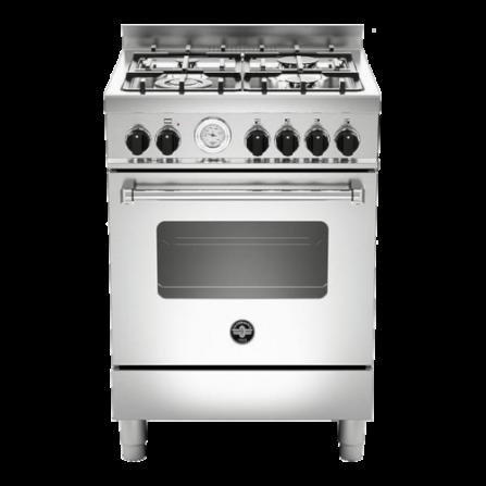 La Germania Cucina AMN664GXT 60x60 Inox Forno a gas ventilato
