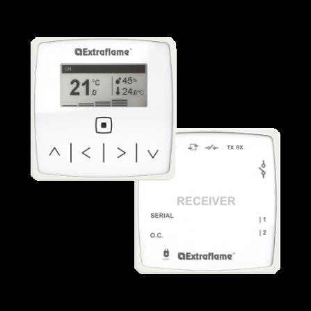 La Nordica 9278362- Kit Termostato ambiente Wifi + Ricevitore
