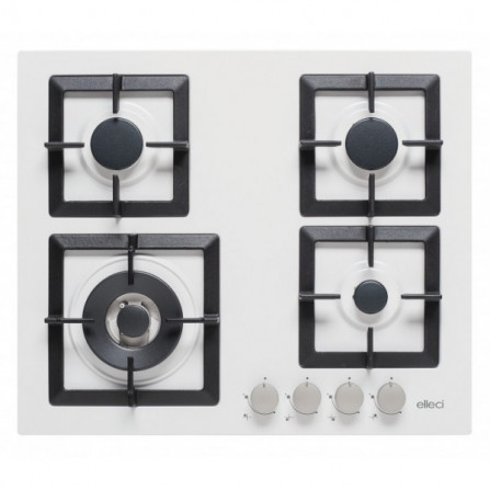 Elleci Piano Cottura PLANO PGSP60168WS 600 x 510 Granitek Bianco
