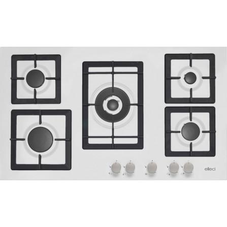 Elleci Piano Cottura PLANO PGSP90168CS Granitek Bianco