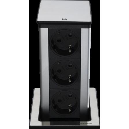 Barazza 1TPQE Torretta portaprese estraibile quadrata- Richiedi Preventivo Personalizzato