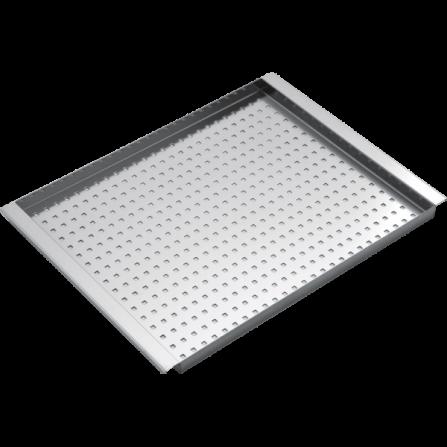 Barazza 1CIVQ Coprivasca forato rettangolare in acciaio inox- Richiedi Preventivo Personalizzato