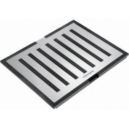 Barazza 1TBF Tagliere multiuso B_Free in acciaio inox e HPL nero- Richiedi Preventivo Personalizzato