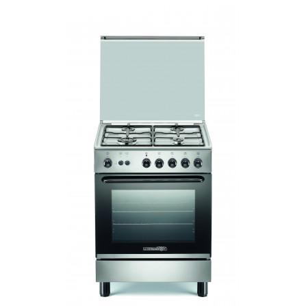 La Germania Cucina S14021X 4 Fuochi a Gas Inox - Pronta Consegna