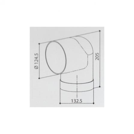 Faber Accessorio Curva 112.0157.307