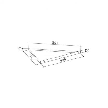 Faber Accessorio Kit Adattatore Angolo 112.0157.284