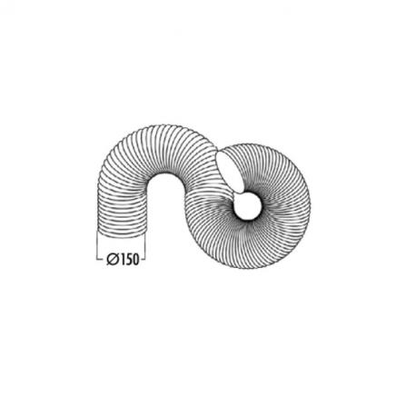 Faber Accessorio Tubo Flessibile Circolare 112.0280.687