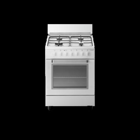 Tecno Gas Cucina Stile Arke' D62NWS 60x60 Forno Gas 4 Fuochi Bianco
