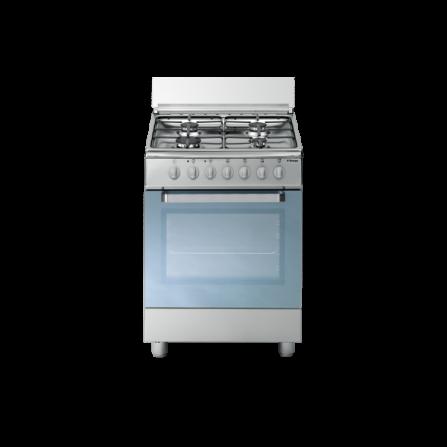 Tecno Gas Cucina Stile Arke' D63NXS 60x60 Forno Multifunzione 4 Fuochi Inox