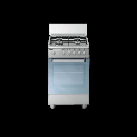 Tecno Gas Cucina Stile Arke' D13XS 50x50 Forno Elettrico Ventilato 4 Fuochi Inox