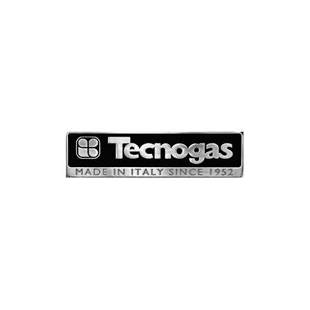 Tecno Gas Piano Cottura FNQ7TGX 75 cm 4 Fuochi+ 1 T.C. griglie ghisa