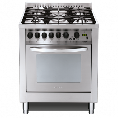 Lofra Cucina a Gas P76GV/C Acciaio Inox da 70cm