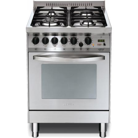 Lofra Cucina a Gas P66GV/CI Acciaio Inox da 60cm