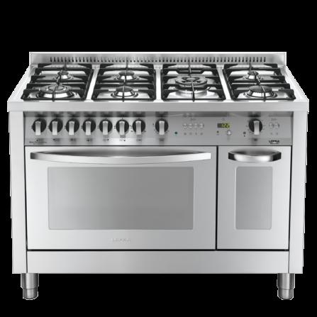 Lofra Cucina a Gas PD126GV+E/2CI Acciaio Inox da 120cm