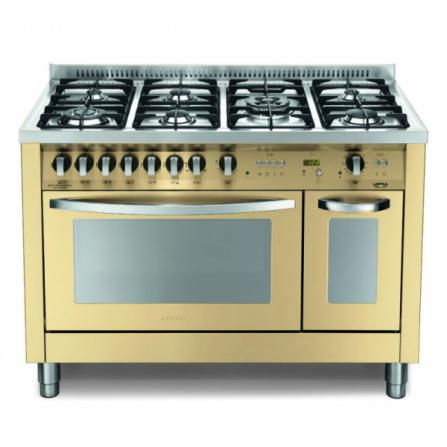 Lofra Cucina a Gas PBID126GV+E/2CI Avorio da 120cm