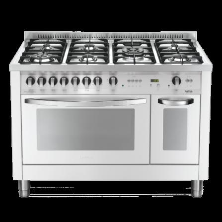 Lofra Cucina a Gas PBPD126GV+E/2CI Bianco Perla da 120cm