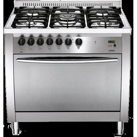 Lofra Cucina a Gas CG96GV/C Acciaio Satinato da 90cm