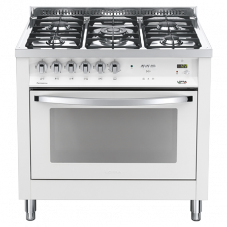 Lofra Cucina a Gas PBPG96GVT/C Bianco Perla da 90cm