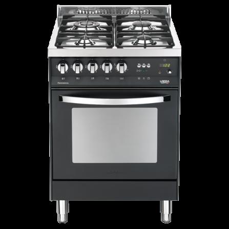 Lofra Cucina a Gas PNM66GVT/C Nero Matt da 60cm  - Pronta Consegna