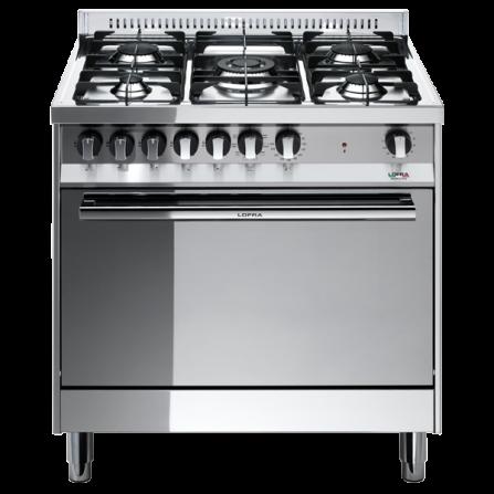 Lofra Cucina a Gas MG86GV/C Acciaio Inox da 80cm