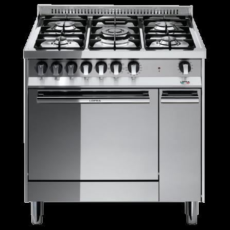 Lofra Cucina a Gas MT86GV/C Acciaio Inox da 80cm