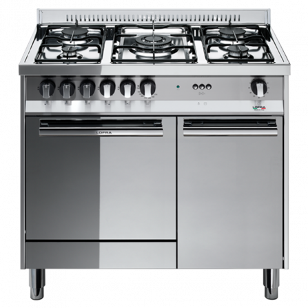 Lofra Cucina a Gas M85G/C Acciaio Inox da 80cm