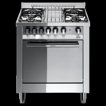 Lofra Cucina a Gas M75GV Acciaio Inox da 70cm