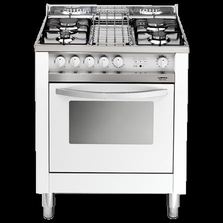 Lofra Cucina a Gas MB75GV Acciaio Inox da 70cm