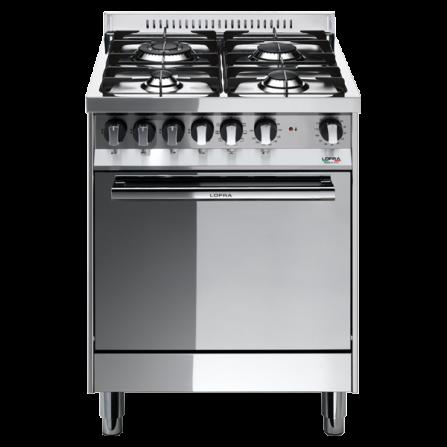 Lofra Cucina a Gas M66GV/C Acciaio Inox da 60cm