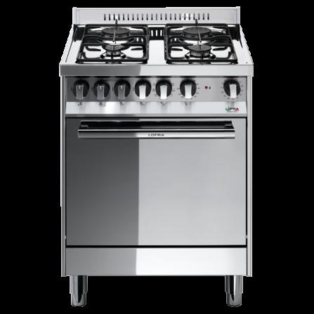 Lofra Cucina a Gas M65GV Acciaio Inox da 60cm  - Pronta Consegna