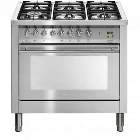 Lofra Cucina Elettrica PG96MFT/CISF Acciaio Inox da 90cm