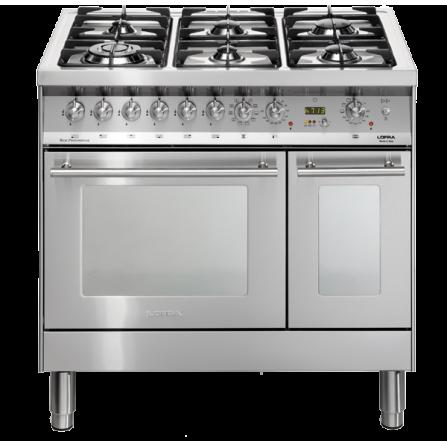 Lofra Cucina Elettrica PD96MFTE/CISF Acciaio Inox da 90cm